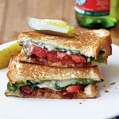20 grilled cheese sandwich recipes from Cooking Light.