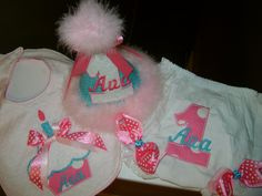 Items similar to Birthday Hat, Bib and Bloomers Set on Etsy 1st Birthday Hats, 1st Birthday Outfits, Birthday Ideas, Birthday Parties, Trending Outfits, Unique Jewelry, Handmade Gifts, Party, Etsy