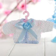 adorable baby mini knit crochet favors baby shower. Black Bedroom Furniture Sets. Home Design Ideas
