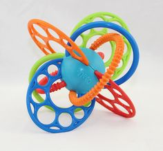 Soft Baby Toy Fun Hand Bell Ball