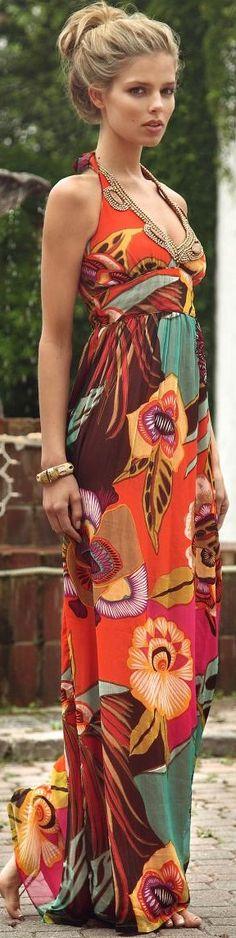 Belize Miami maxi dress