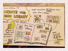 365 Creativity Facilitators: Visualization Tip: Create your Icon Library #58