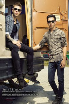 Brent Taddie & Brandon Hoover of Crown The Empire