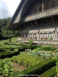 Bauernhaus aus Ostermundigen Von 1760! Schweizer chalet, Freilichtmuseum, Ballenberg.