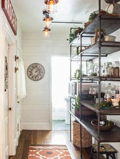 Before & After: An Empty Hallway Becomes a Functional Open Pantry