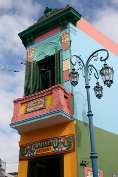 This place was so colorful and full of life! Caminito, La Boca, Buenos Aires,  Argentina
