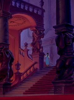 Belle explores the forbidden West Wing ~ Beauty and the Beast