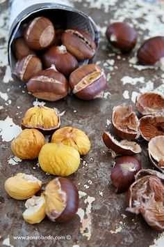 Roasted Chestnuts http://sourcefoodsblog.blogspot.com/2013/12/chestnuts-source-of-inspiration.html