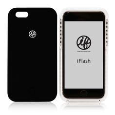 セルフィーライト付きスマホケース「iFlash」 for iPhone6/6s Plus(Black)#自撮り #iFlash #スマホケース #iPhoneケース #LED #LEDライト #アプリ加工 #クラブ #セルフィー #自撮り女子