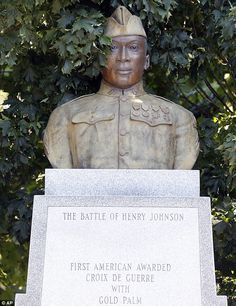 Black WWI Hero Henry Johnson, A Step Closer to Being Awarded the Medal of Honor - War Historical Photos American Veterans, American Soldiers, Henry Johnson, American Awards, Black History Facts, African American History, Native American, World War I, Military History
