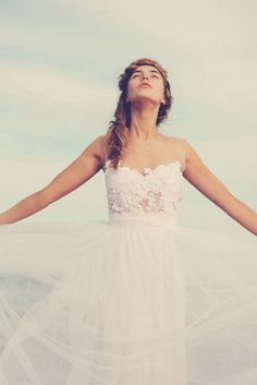 Grace Loves Lace wedding dress with elegant lace. Click through to see more;