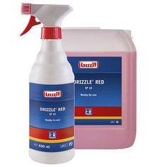 Χώροι Υγιεινής: Drizzle Red SP 10 Buzil Spray Bottle, Cleaning Supplies, Red, Cleaning Agent, Airstone