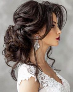 Coiffure De Mariage : Featured Hairstyle: Elstile; www.elstile.ru; Wedding hairstyle idea....