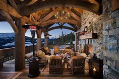 Love this Porch and the View!!!!