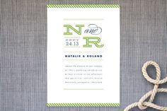 Ballaster Wedding Invitations - minted
