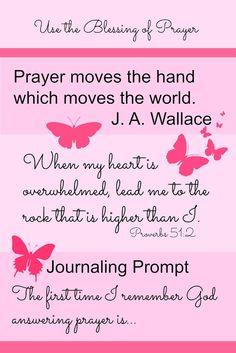 Prayer Moves the Finger of God