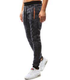 Pánske maskáčové šedé nohavice Sport Wear, Underwear, Sweatpants, Sports, How To Wear, Fashion, Hs Sports, Moda, Athletic Wear