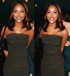 Black Girl Magic, Black Girls, Beautiful Black Women, Beautiful People, Lynn Whitfield, Vintage Black Glamour, Black Girl Aesthetic, 90s Fashion, Strapless Dress Formal