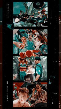 Baekhyun, Daily Exo, Exo For Life, Kpop Backgrounds, Ko Ko Bop, Exo Album, Exo Lockscreen, Z Cam, Boys Wallpaper