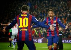 Football Fever: Neymar waxes lyrical about Lionel Messi: