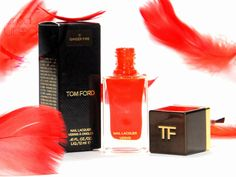 Today in my hands went just wide red - remarkable, ore and fire, which was named GINGER FIRE. PL - Dziś w moje ręce trafiła czerwień – niebanalna, ruda i ognista, którą nazwano GINGER FIRE. #TomFord #TomFordCosmetics #GingerFire #nails
