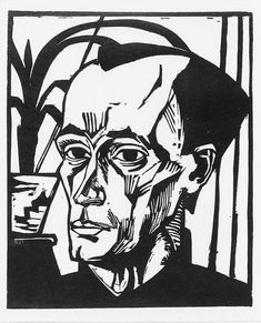 View BILDNIS E. (DUBE 306 A) By Erich Heckel; 365 by 295 mm 14 by 11 in; Access more artwork lots and estimated & realized auction prices on MutualArt. Expressionist Portraits, German Expressionism Art, Karl Schmidt Rottluff, George Grosz, Degenerate Art, Edvard Munch, Wassily Kandinsky, Linocut Prints, Artist Art