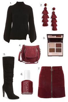 Burgundy   Black For Fall - Iris of Style