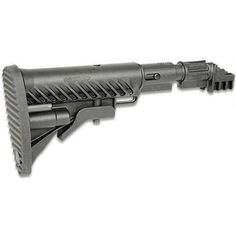 Mako Recoil Compensating Collapsible 6 Position Buttstock Kit for AK-47 and 74 Black - SBT-K47FK - 879015001964