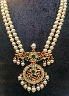 Fulfill a Wedding Tradition with Estate Bridal Jewelry Pearl Necklace Designs, Gold Earrings Designs, Gold Jewellery Design, Silver Jewellery, Jewellery Bracelets, Antique Necklace, Necklaces, Bead Jewellery, Gold Jewelry Simple