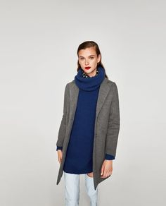48a4c5ea110b Image 2 of SUPER SOFT COAT from Zara Zara