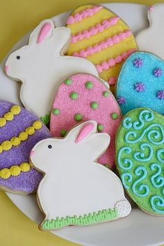 Recipe for roll out sugar cookies…cut into any shape and frost with royal icing.