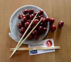 La DOP Cereza del Jerte promociona el uso de la Picota del Jerte como ingrediente de platos de cocina japonesa. #cocinajaponesa.