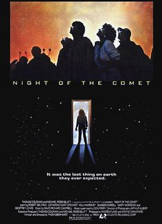 Released on November 1984 to US theaters, Night of the Comet is rated and is one of my favorite B movies in the Sci-Fi/horror/comedy category. Zombie Movies, 80s Movies, Scary Movies, Fiction Movies, 1984 Movie, Movie Tv, Movie List, Comet Movie, Vampire Diaries