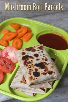 Kids indian lunch ideas toddler pinterest lunches lunch box mushroom roti parcels recipe kids lunch box ideas forumfinder Images