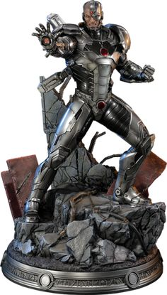 DC Comics Cyborg Statue by Sideshow Collectibles – Action Figures Star Wars Poster, Star Wars Art, Star Trek, Teen Titans, Mundo Superman, Justice League New 52, Marvel Statues, Geek Toys, Marvel Dc Comics