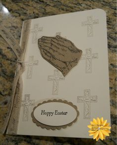 Easter Card That I did.  Get the Stampin Up Products at http://marytrautner.stampinup.net View my blog at http://marysstampinghappenings.blogspot.com Follow me on Facebook.https://www.facebook.com/MaryTrautnerStampinUp