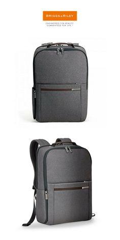 Briggs & Riley - Kinzie Street Medium Backpack   Click for Price and More   #BriggsRiley #KinzieStreet #Backpack #FindMeABackpack