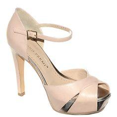 #Decollete in pelle color cipria  http://www.tentazioneshop.it/scarpe-bruno-premi/sandalo-x2004x-nudo-bruno-premi.html