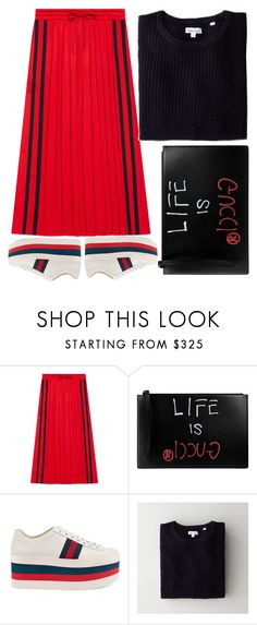 """""""life is GUCCI"""" by ecem1 ❤ liked on Polyvore featuring Gucci and Steven Alan"""