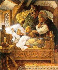 http://tvtropes.org/pmwiki/pmwiki.php/Literature/Goldilocks?from=Main.Goldilocks
