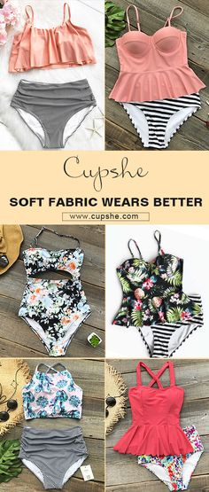 Summer is winding down. Refresh your summer with greatest bikinis from Cupshe. Discover everything from one pieces to high-waisted bikinis, tanks and so much more. Soft fabric and great quality. FREE shipping. Shop now.