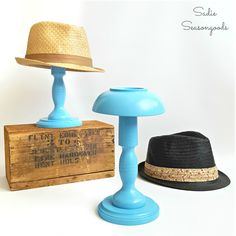 DIY Hat Stand |Sadie Seasongoods -  Featured on #HomeMattersParty 98