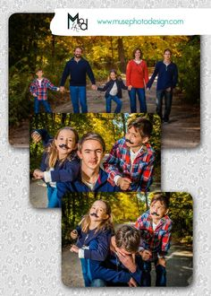 We love having fun during our family sessions, that sometimes includes a MUSESTACHE! Muse Photo Design, the dynamic duo of cedar valley photographers, with a flare for awesomeness! #togswithmadskills