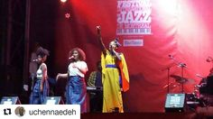 #Repost @uchennaedeh with @repostapp  Had a great time at the Montreal Jazz Fest enjoying the gospel sounds of Jireh and the music of Guadeloupean singer Malika Tirolien. #malikatirolien #malikatirolienlive #montrealjazzfest #montreal #summernights #jazzfest #neosoul #guadeloup #soul #afrosoul