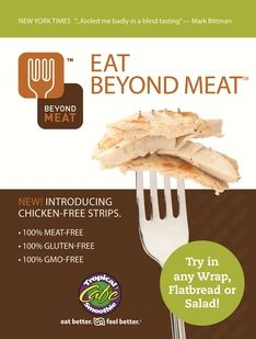 Tropical Smoothie Ditches the Meat for Latest Menu Addition 5/29/13