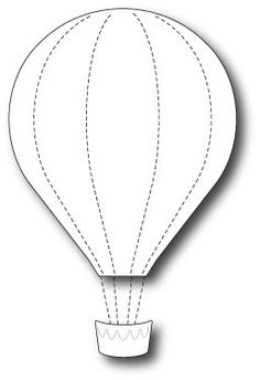 Memory Box - Craft Die - Grand Voyage Balloon -
