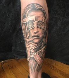 Lady justice done by Jason Nicholson @ Double Deez West Chester Pa