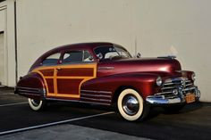 1948 Chevrolet Fleetline Aerosedan Custom Country Club