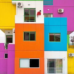 Rubiks Cube Building #Architecture #Lebanon photo by Serge Najjar