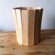 Risultati immagini per recycler des lattes de sommier Bed Slats, Knife Block, Decoration, Repurposed, Wood, Crafts, Bed Base, Pallet Projects, Wood Projects